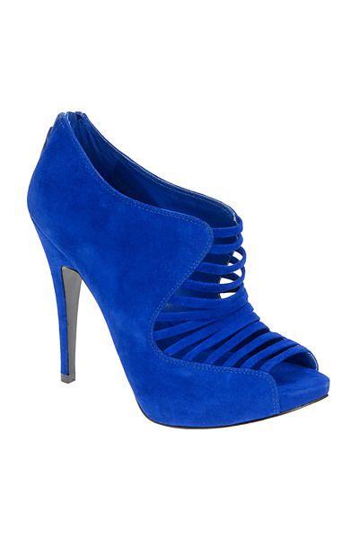Blue Blue, electric blue.