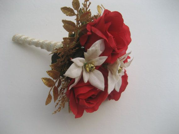 Christmas Toss Bouquet / Holiday Toss Bouquet / by DESIGNSBYDME, $32.50