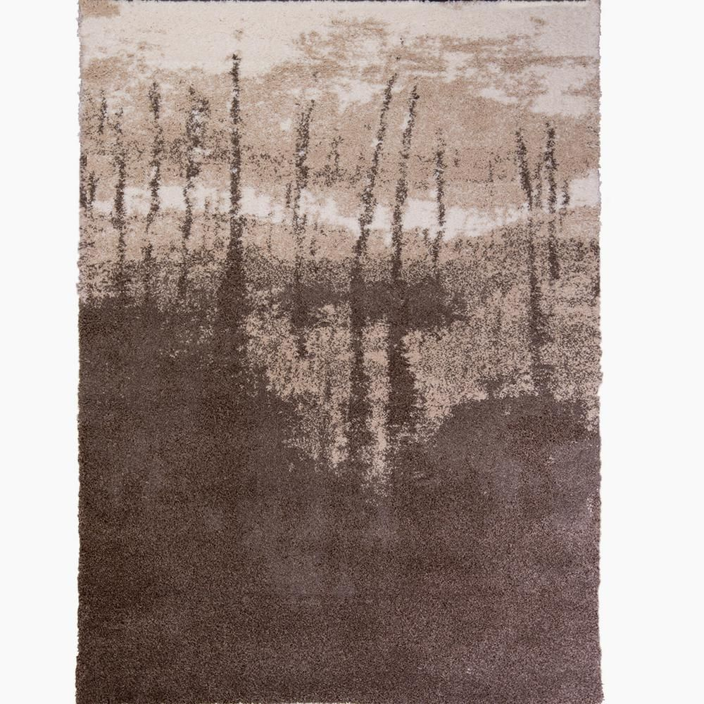 Four Seasons Taupe Brown 5 Ft 2 In X 7 Ft 2 In Indoor Area