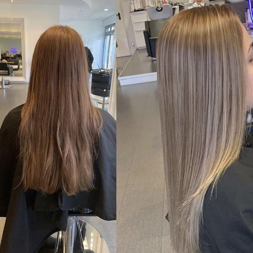 Leyla Hair And Beauty Ihr Friseursalon Mitten Im Bielefelder Westen Haarschonheit Frisuren Langhaar Haar Styling