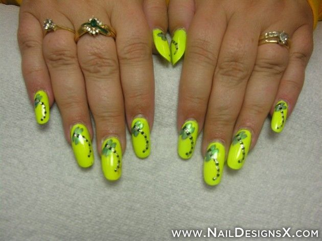 sexy neon nail design | Colorful Nail Designs & Nail Art | Pinterest ...