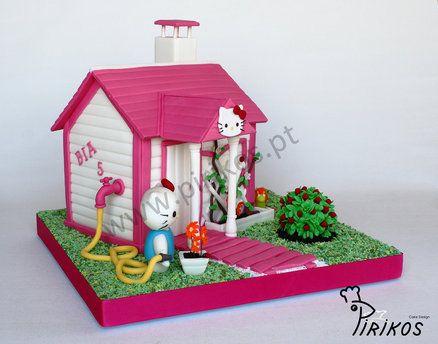 Hello Kitty's House by Pirikos cake design