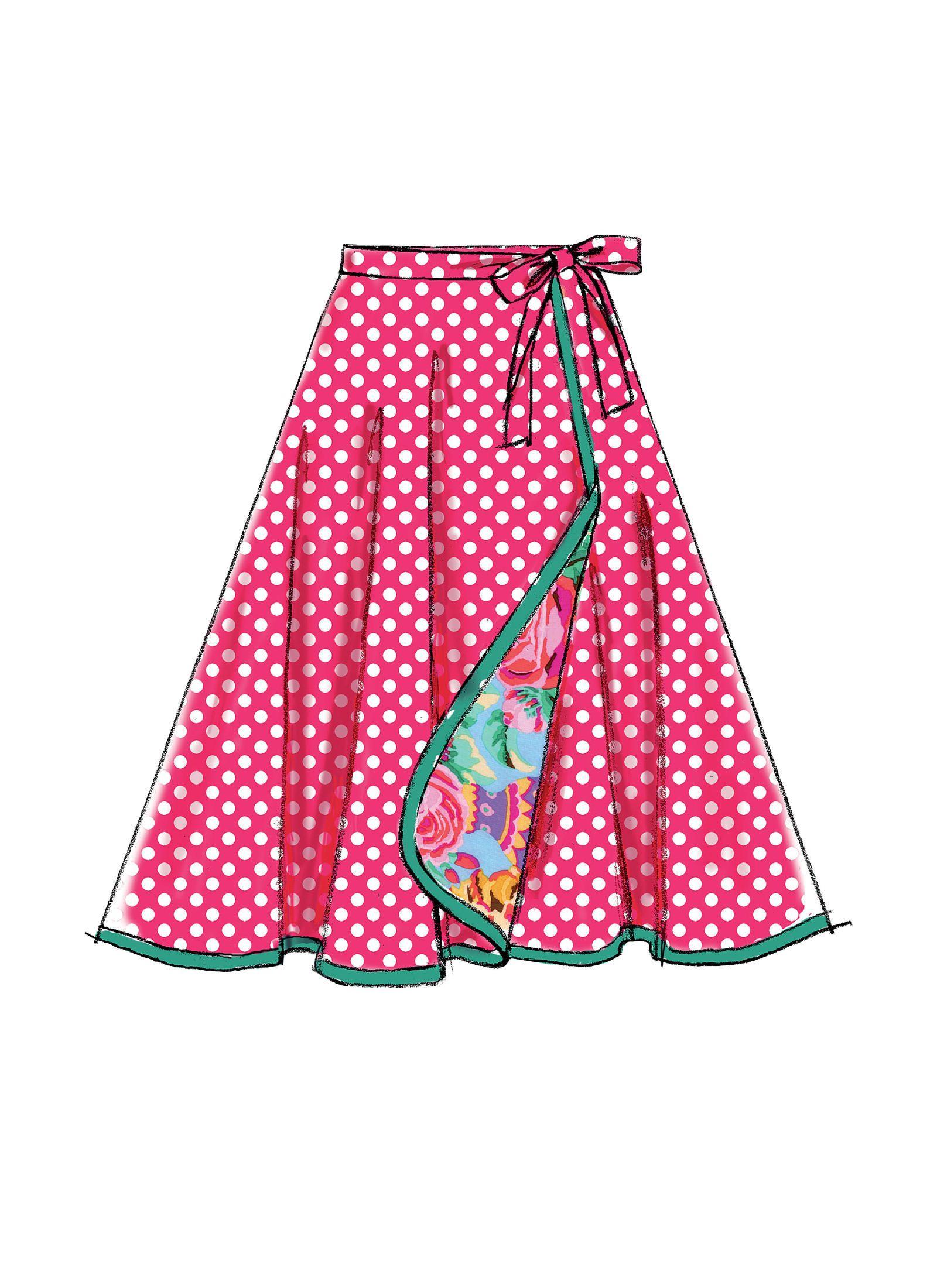 Mccalls Sewing Pattern M7129 misses/'s faldas