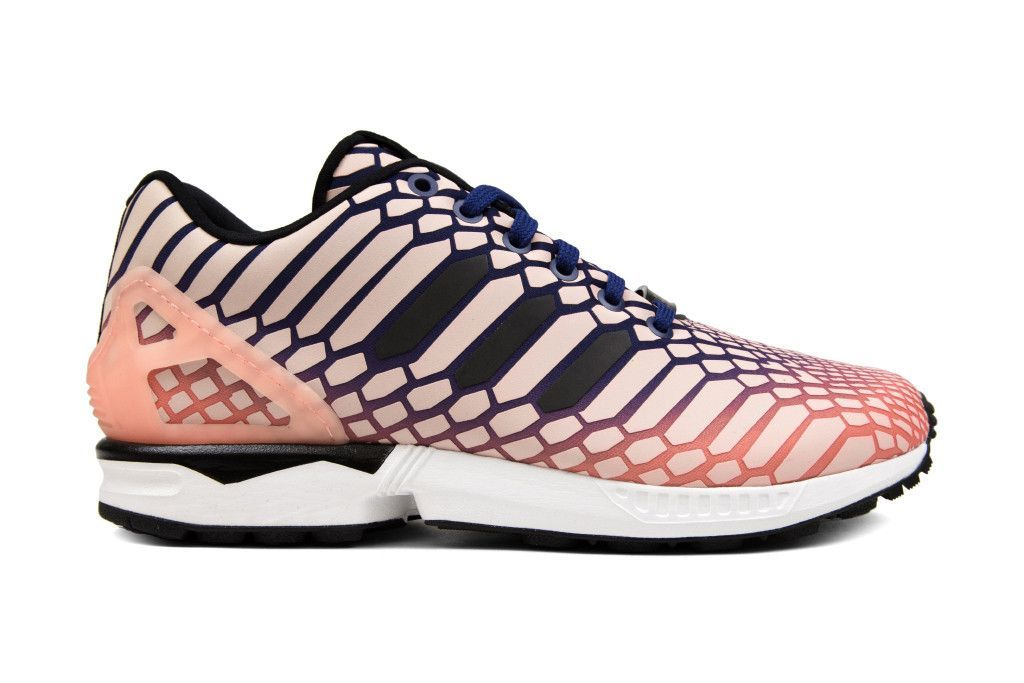cd96a3762378 Adidas Originals Women s ZX Flux  Xeno Borealis  - Sunglow