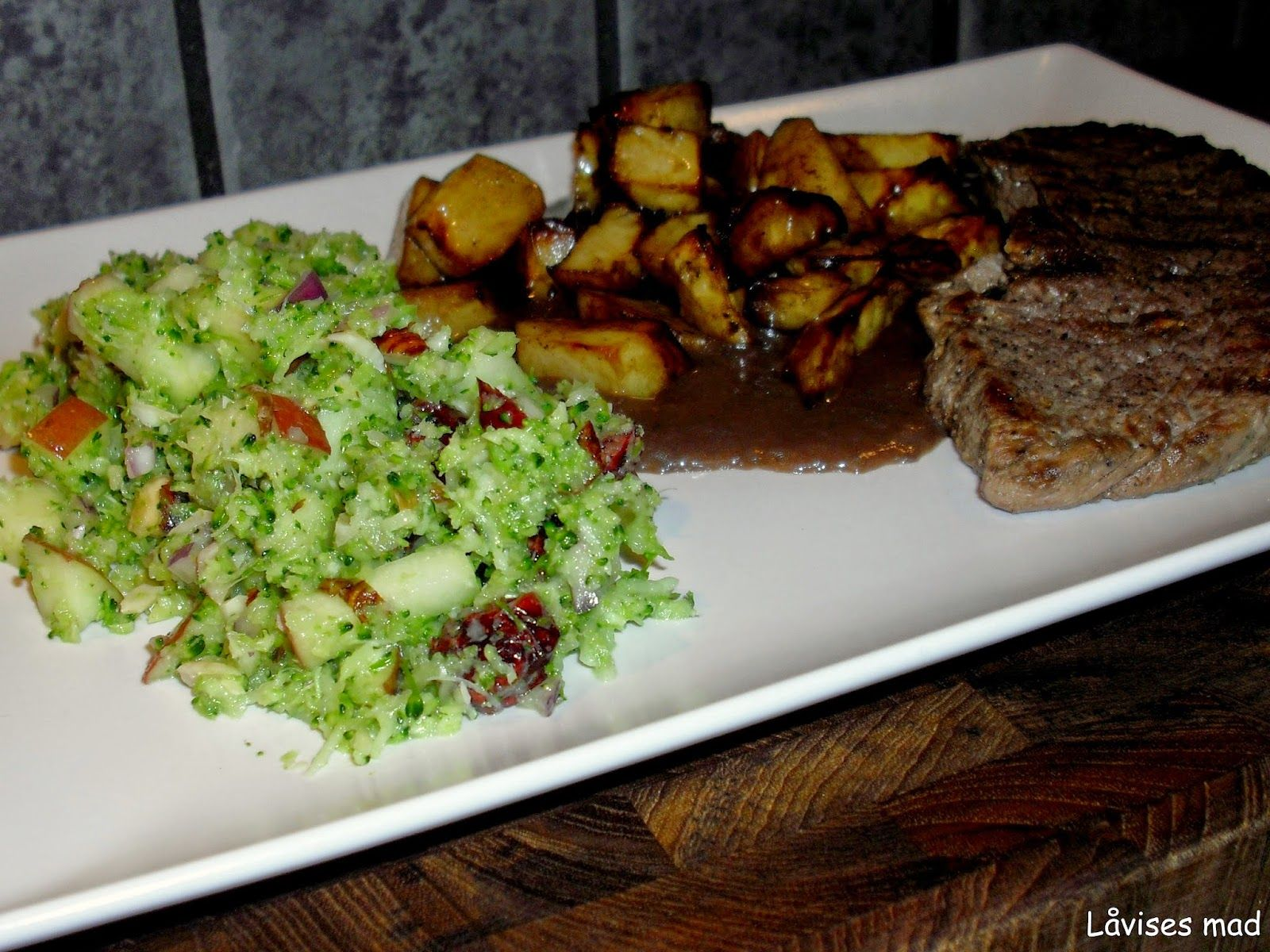 Låvises mad: Balsamico kartofler
