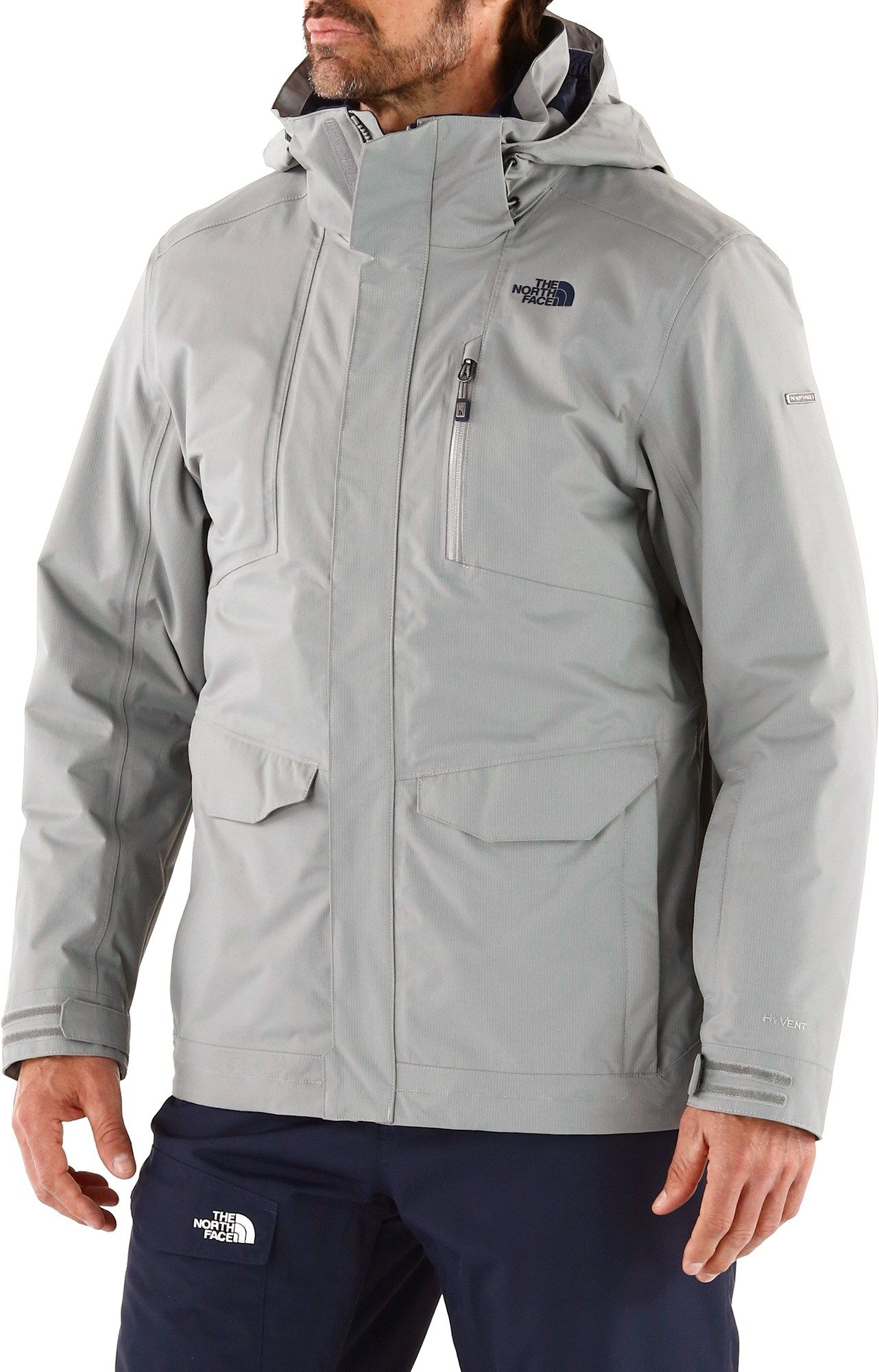f4533236e73 The North Face Male Thermoball Snow Triclimate 3-In-1 Parka - Men s