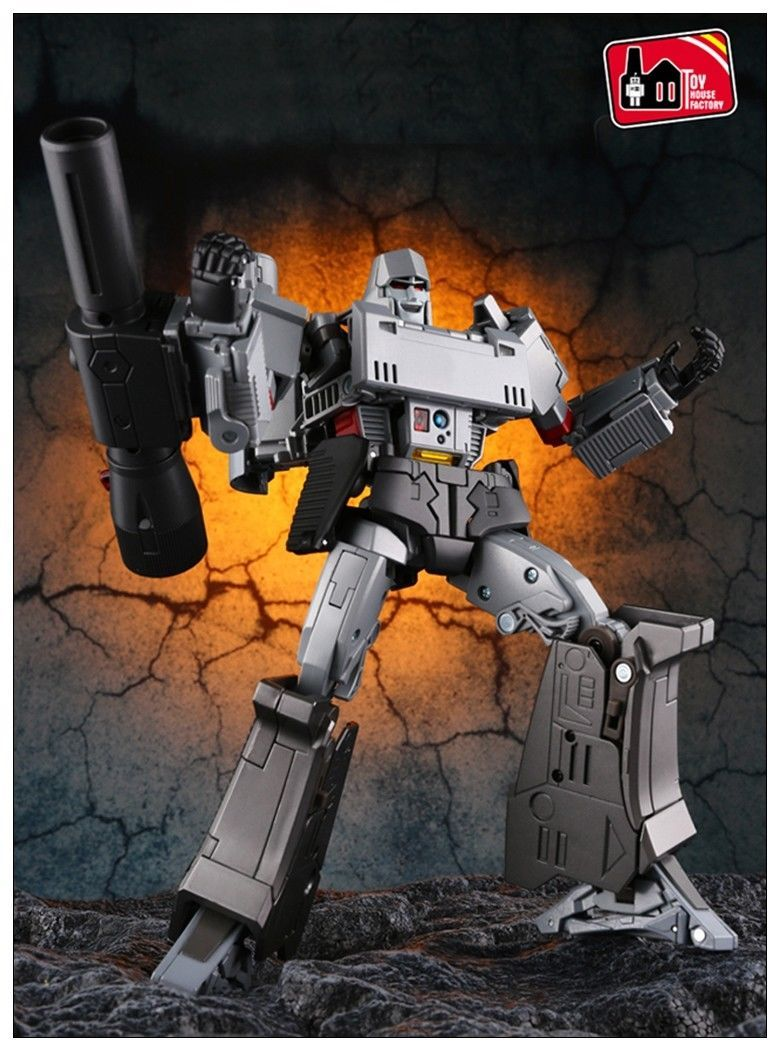 Transformers Toys THF-03 Megatron G1 Mp scale Action ...
