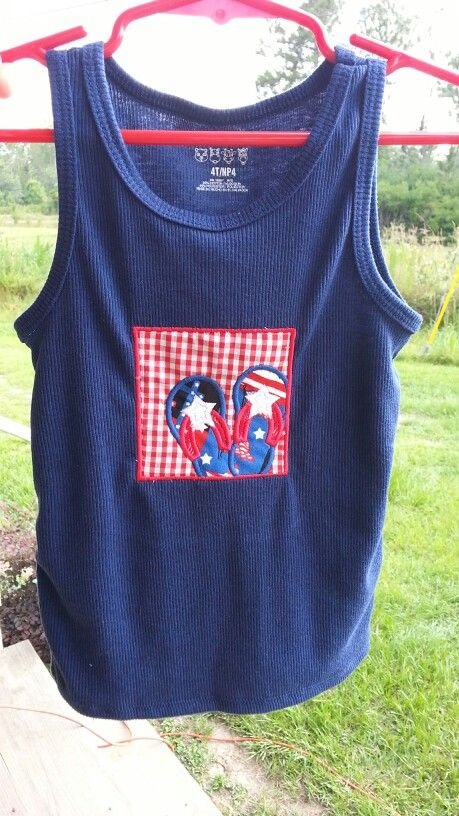 4th of July Tank Top Toddler