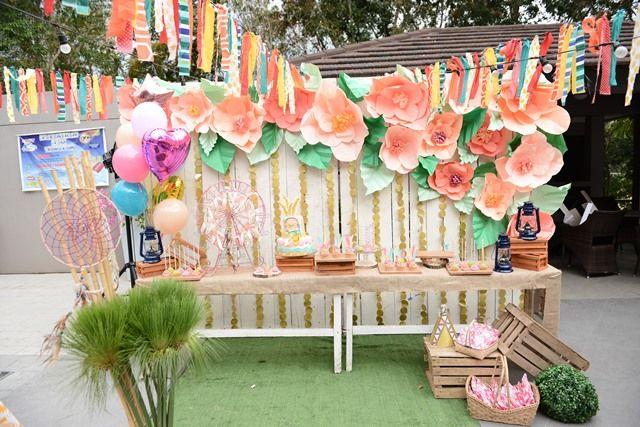 392605a31b49 Caitlin s Coachella Themed Party – Dessert Tablescape