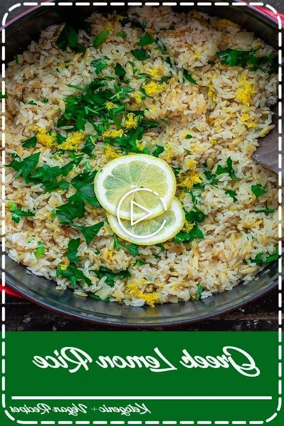 Lemon Rice You'll love this bright and super tasty Greek lemon rice with onions, garlic, lemon and