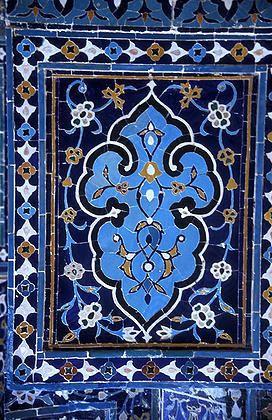 Tile-Mosaic, Samarkand