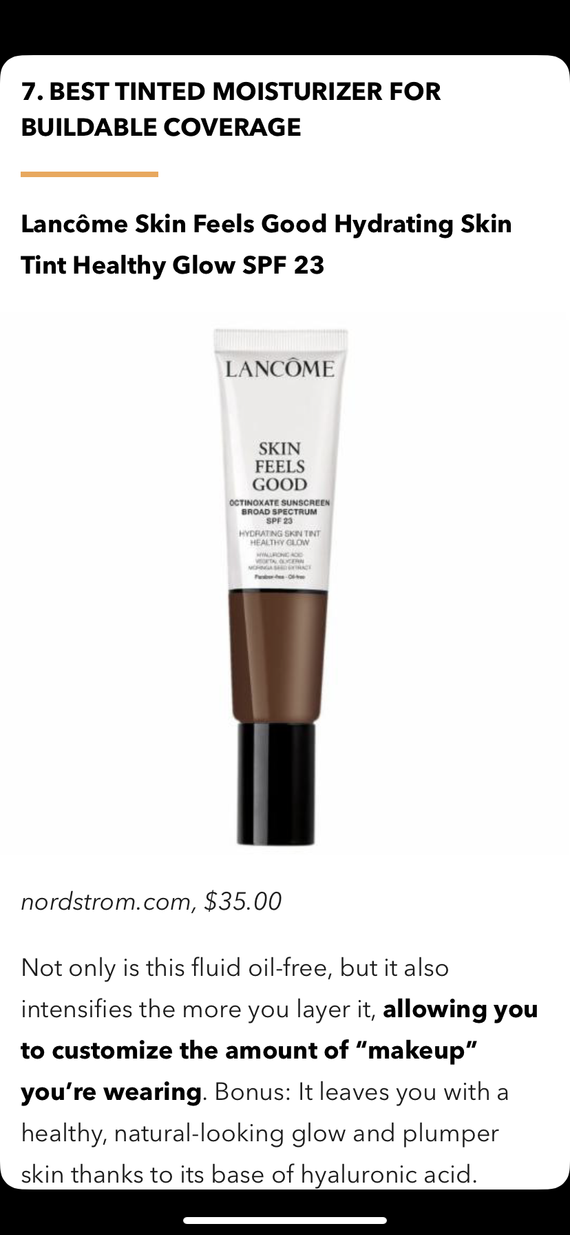 Pin By Angelica Hernandez On Make Up Tinted Moisturizer Hydrate Skin Healthy Glow
