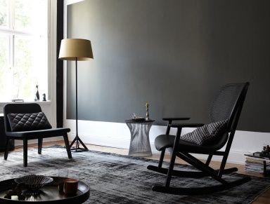 Wohnen Mit Farben - Wandfarbe Rot, Blau, Grün Und Grau: Wand In ... Schoner Wohnen Wohnzimmer Grau