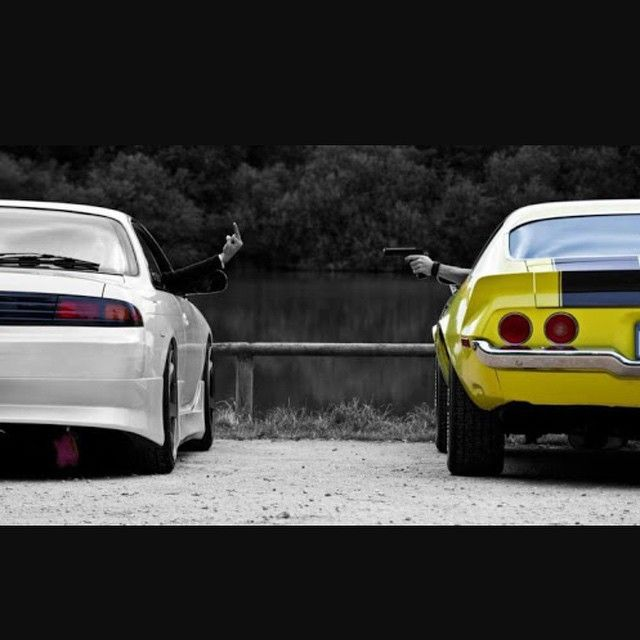 Best Caption Wins Muscle Vs Import Bikes Muscle Cars
