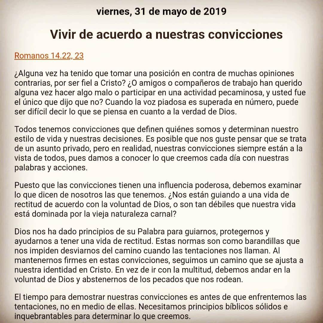 Jesus Encontacto Vivir De Acuerdo A Nuestras Convicciones Devocióndiaria Ministerio Charlesstanley Instagram Posts Instagram Jesus