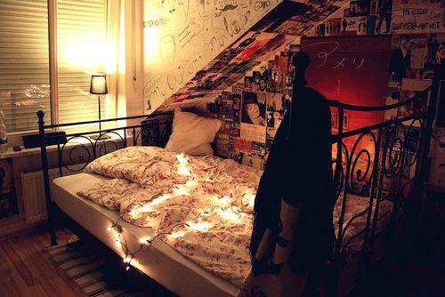 Camere Tumblr Con Luci : Snug tissah tumblr bedroom