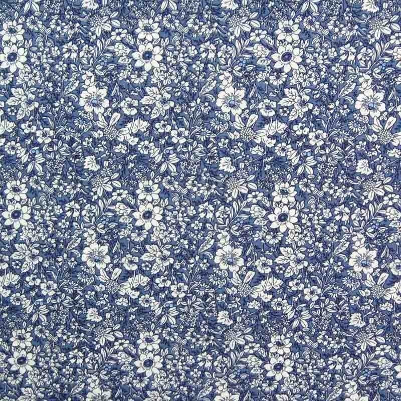 Flowers Print 100% Cotton Fabric Delph 110cm - Floral - 100% Print Cottons…