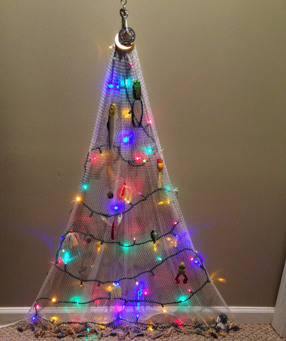 Cast net Christmas tree Christmas DecorationsChristmas