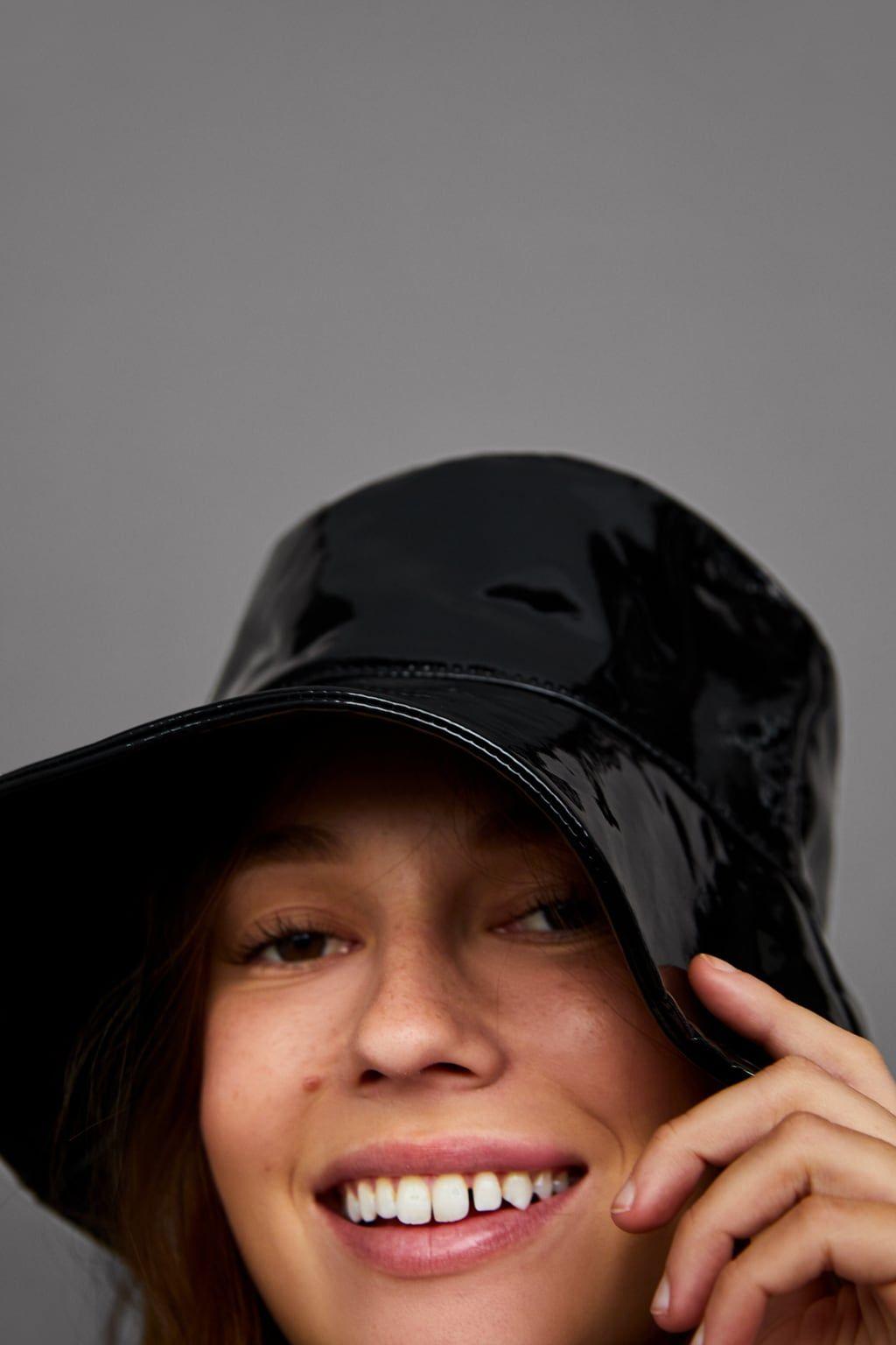 568ff8c2 RAIN HAT from Zara | The Best of Zara | Rain hat, 90s hats, Visor hats