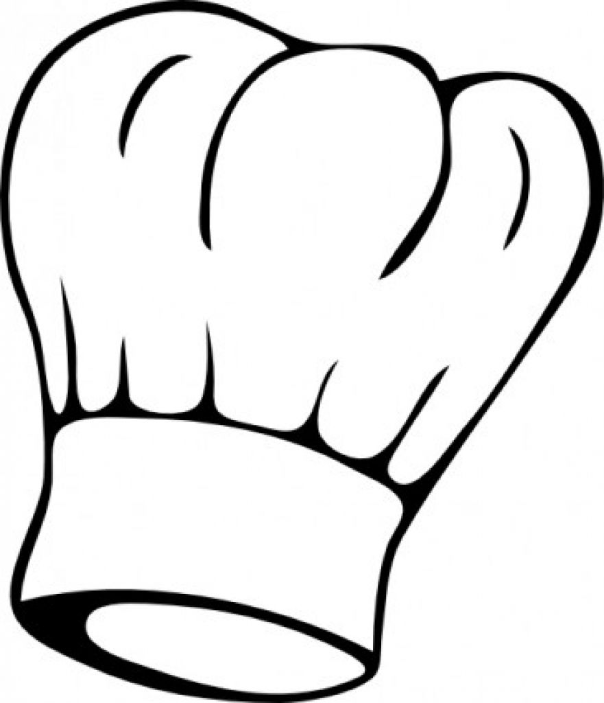 Chef Hat Clipart Chef Hat Clipart Chef Hat Clipart Black And White