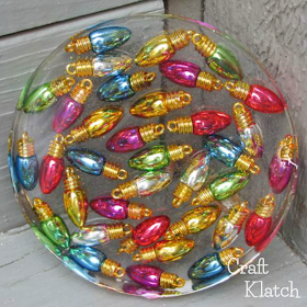 Christmas Lights Coaster  Another Coaster Friday - Resin crafts tutorial, How to make resin, Resin crafts, Friend crafts, Resin diy, Christmas lights - craftklatch because sometimes I get a little behind here! Thanks for stopping by and have a Safe and Happy Holiday Season!! Happy Crafting! Mona