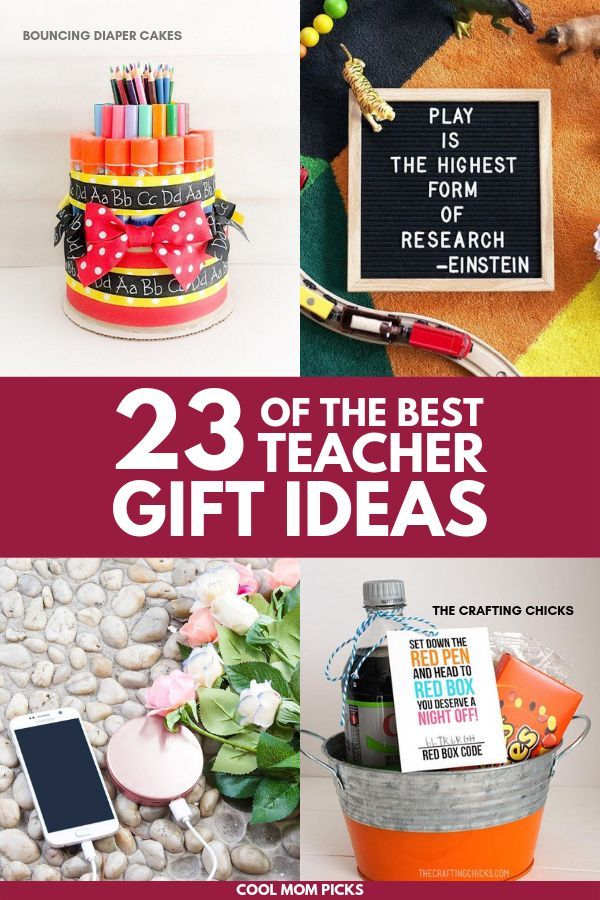 23 ideas for practical holiday gifts for teachers. No