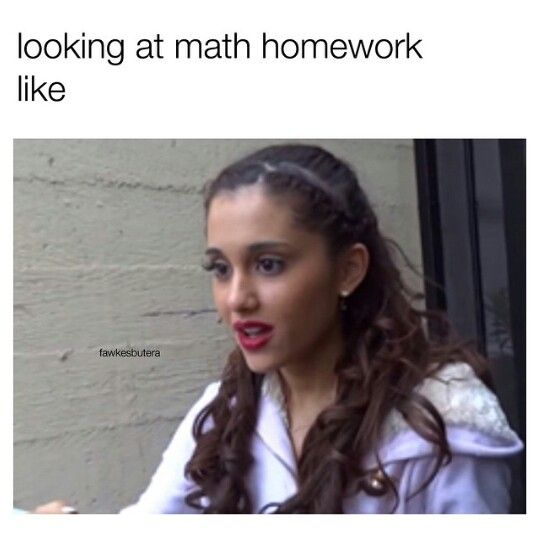 ღ Yes This Is So Me When The Teacher Pes Out Math Homework