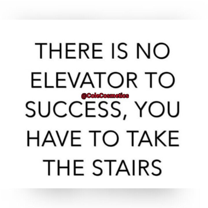 Stairs are good for exercise.....Gooorning!