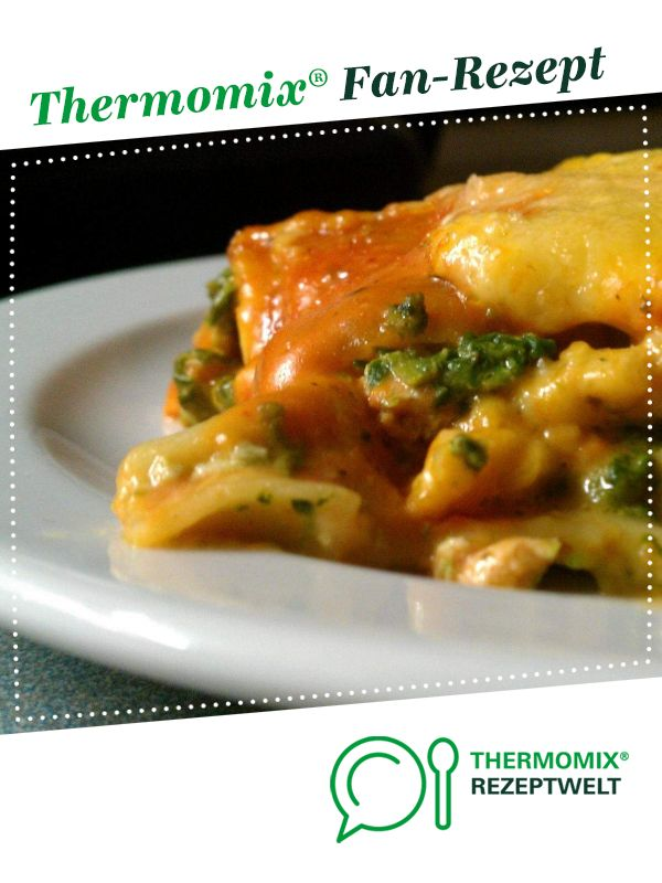 Photo of Salmon and spinach lasagne