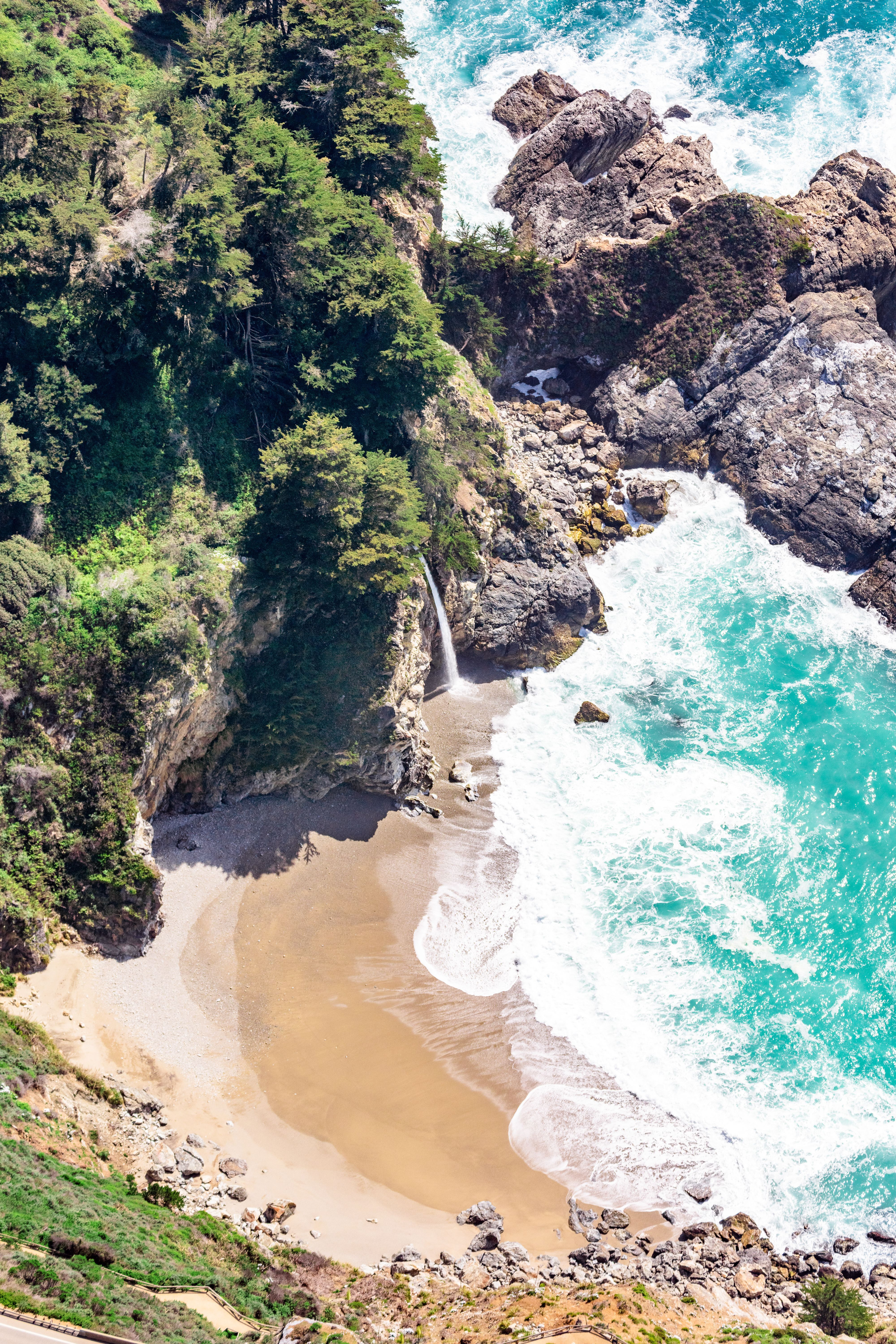 Brand New Aerials from Pebble Beach and Big Sur Pebble