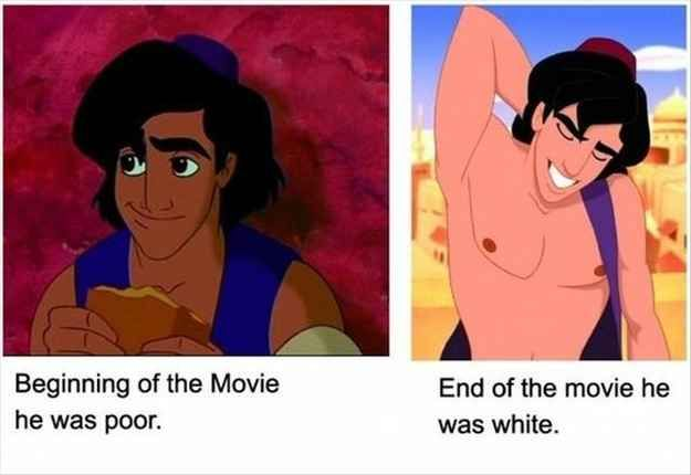 racial stereotypes in disney movies