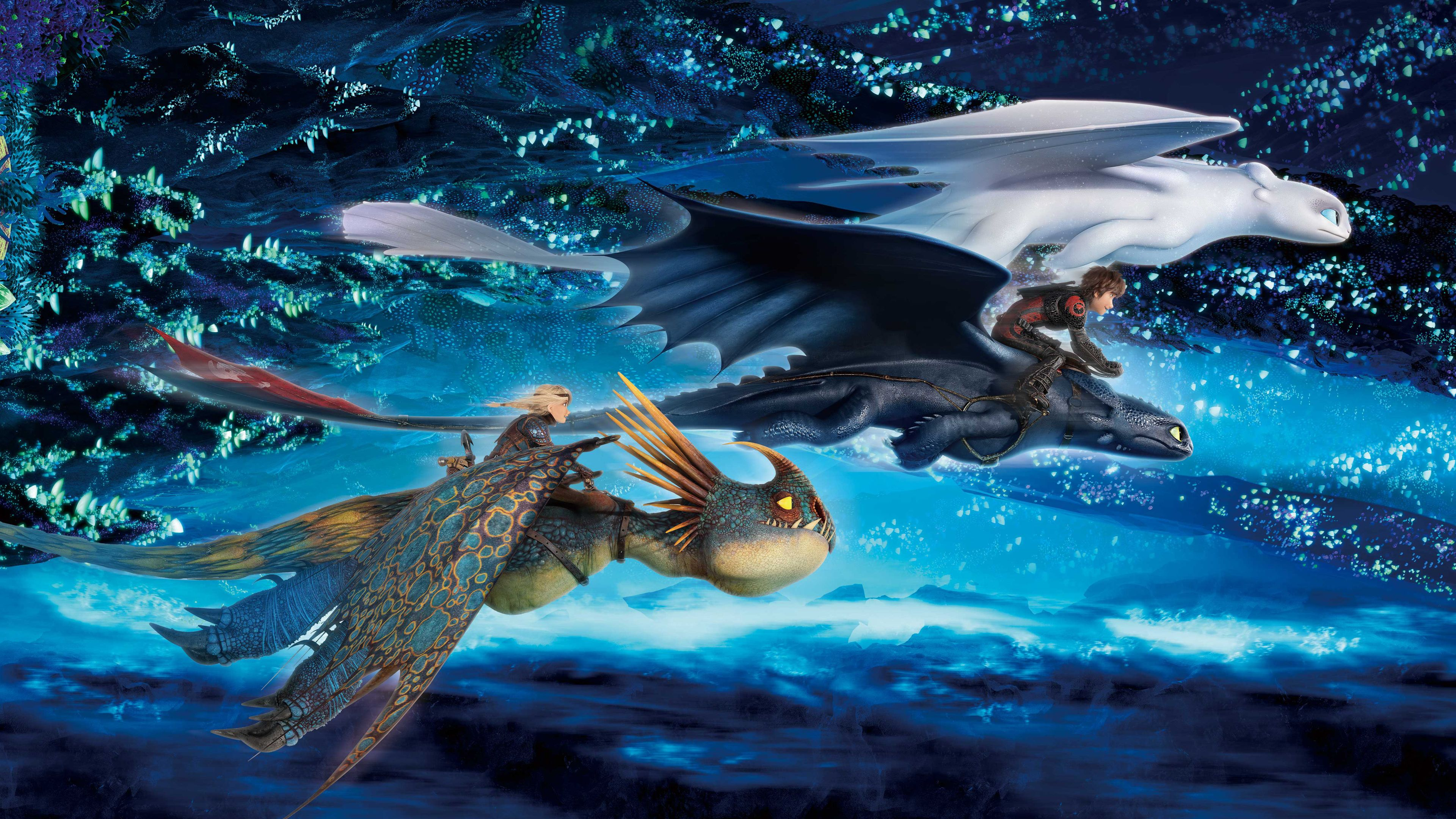 How To Train Your Dragon The Hidden World Imax Movies Wallpapers Light Fury Wallpapers How To How Train Your Dragon How To Train Your Dragon World Wallpaper