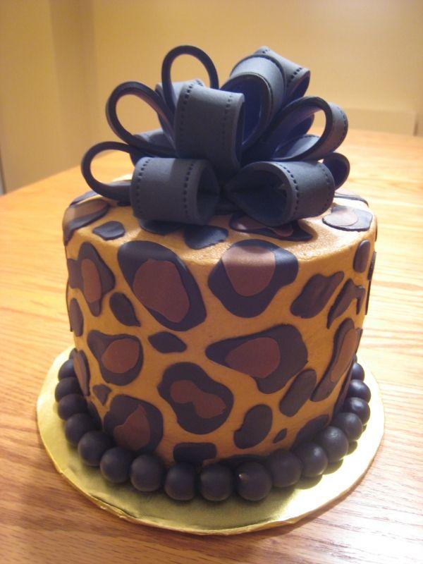 Leopard Cake Im Making This For My Birthday Cake Art
