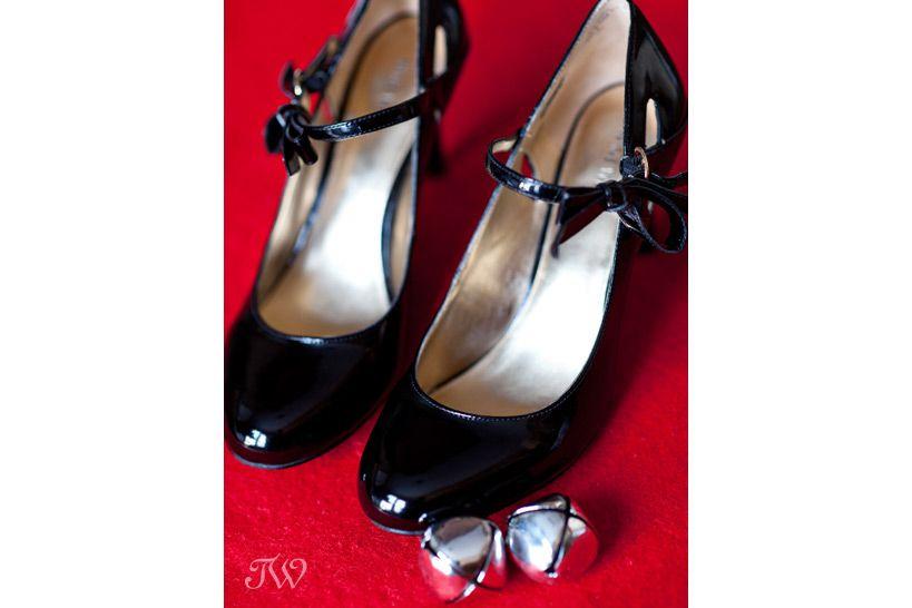 calgary wedding photographer christmas wedding shoes nine