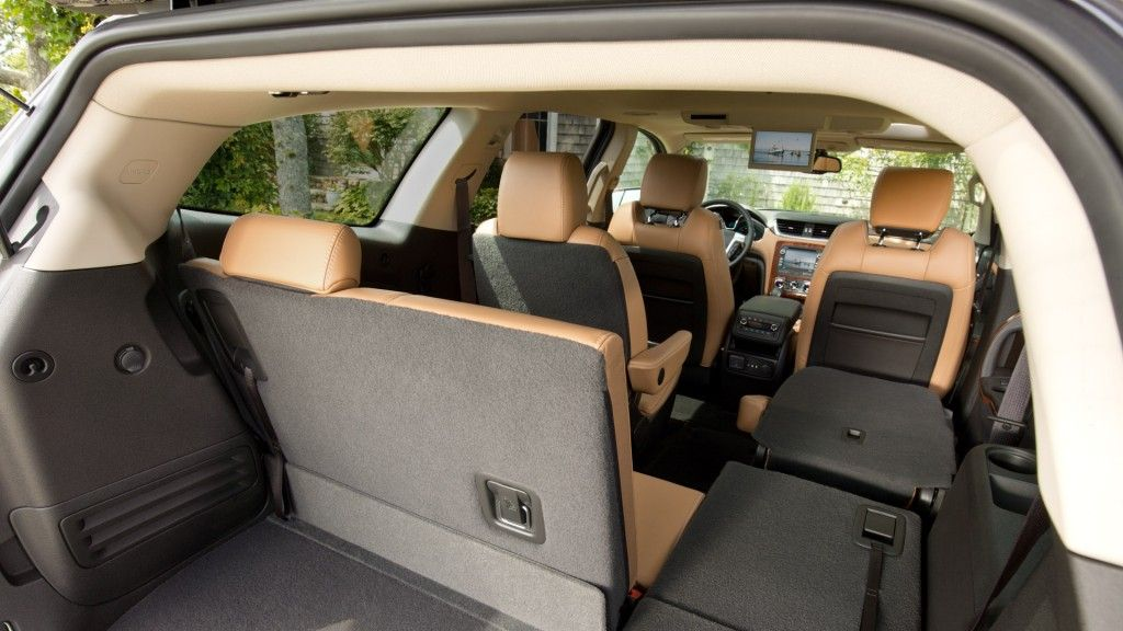 Huge Cargo Area Chevrolet Traverse Best Midsize Suv