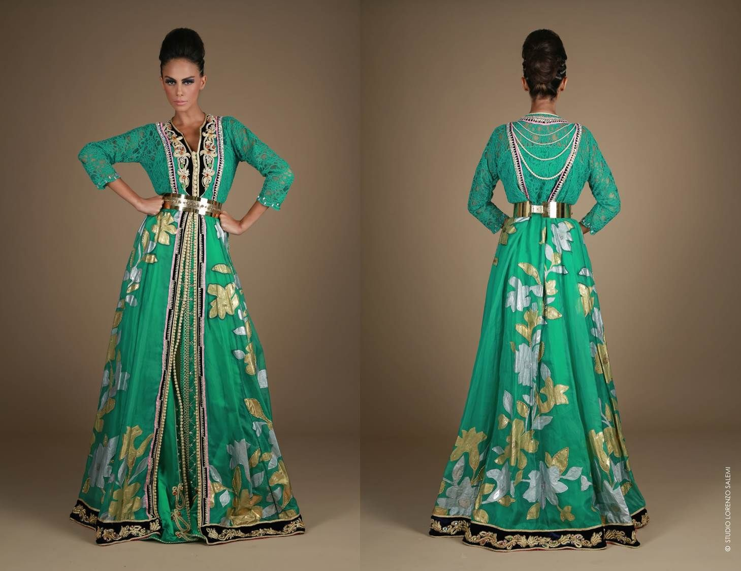 Moroccan aroma sizzling in meriem belkhayatus latest collection