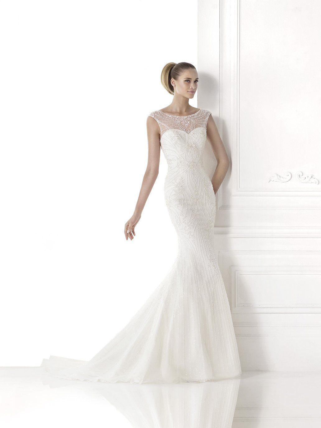 Pronovias Maine wedding dress from the 2015 collection | plush ...