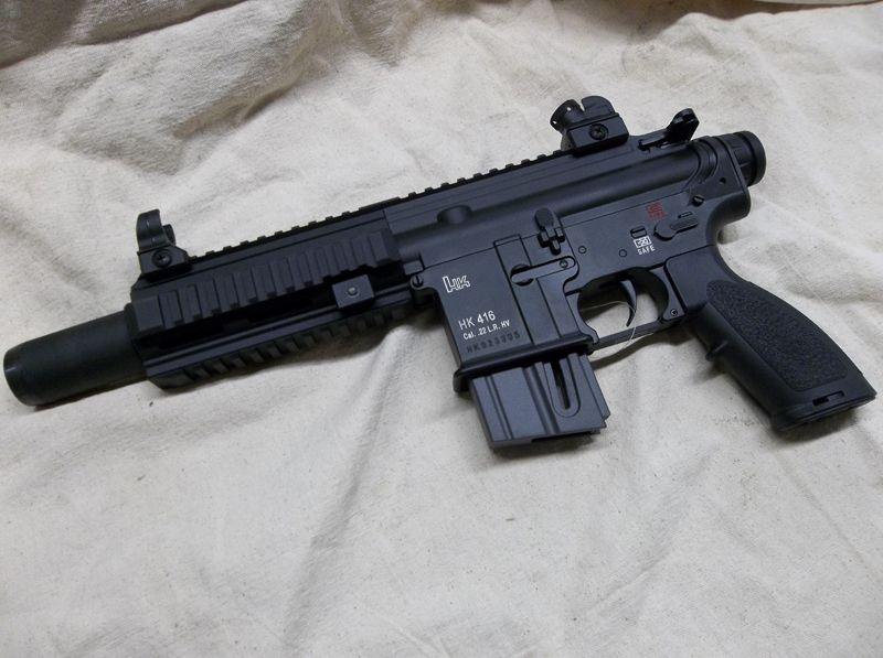 HK 416 22LR Umarex Pistol   Tactical / Espionage   Guns