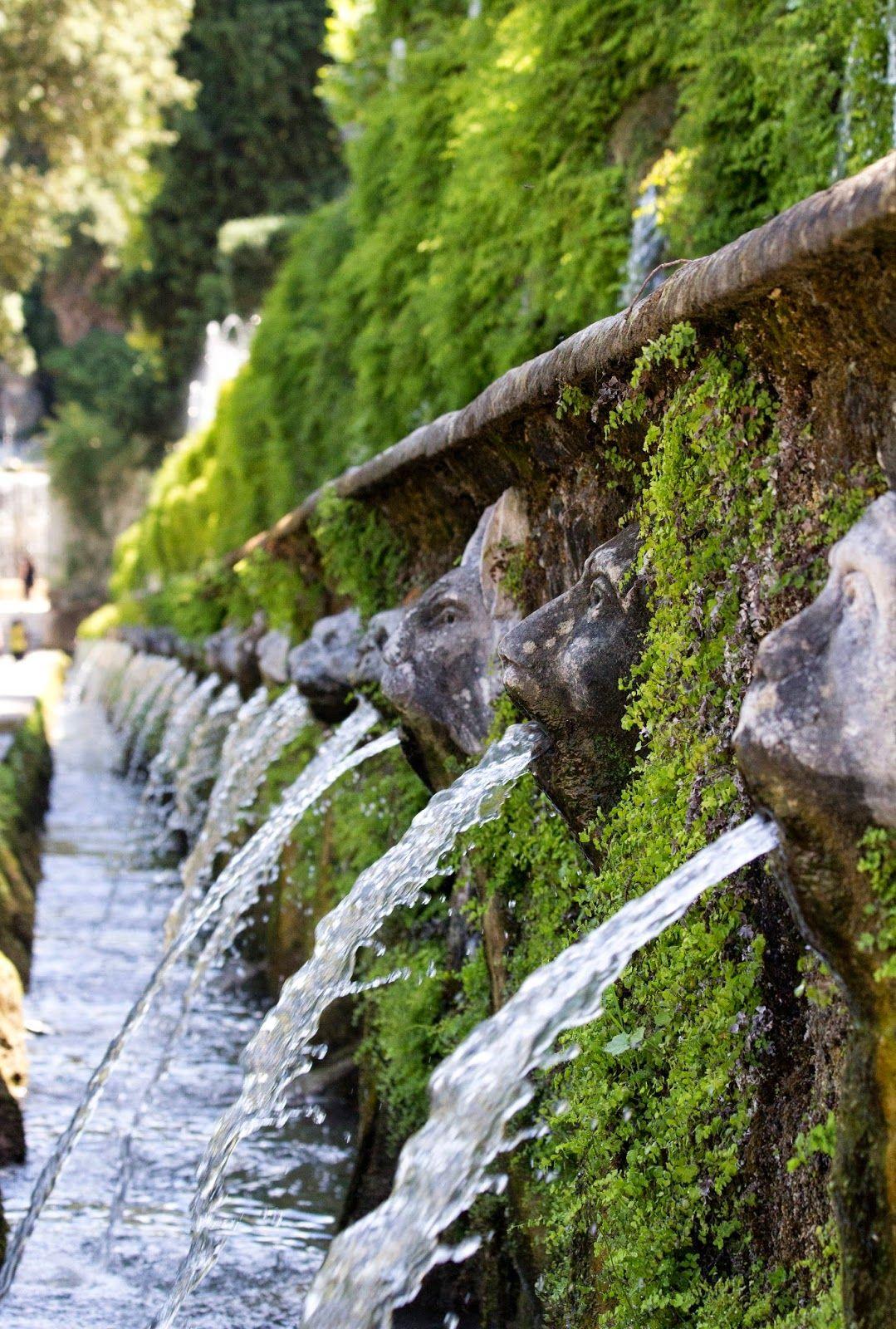 Villa D Este I Never Promised You A Water Garden Italian