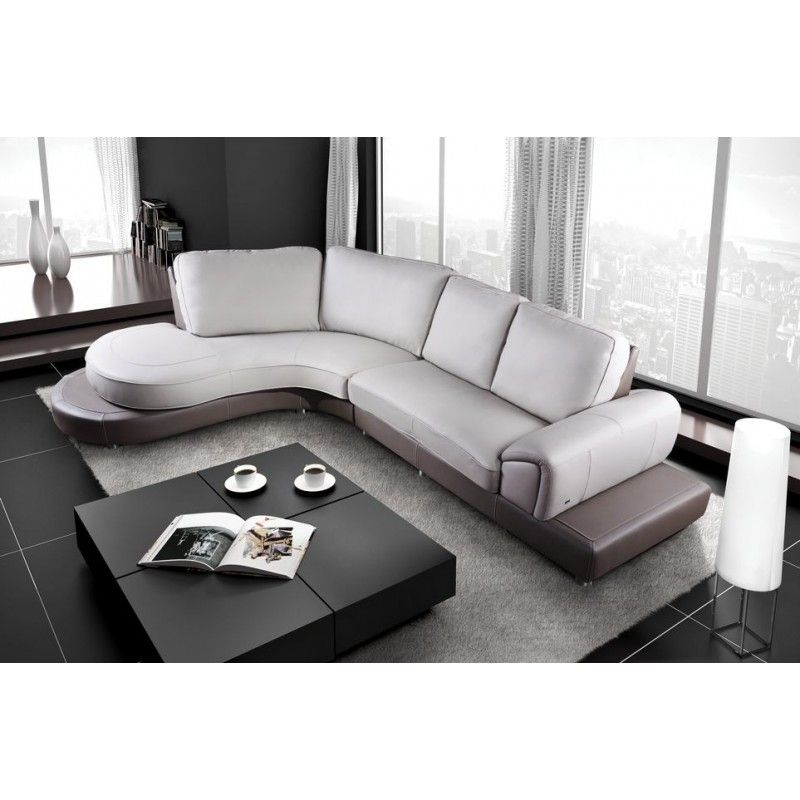 Marvelous Saturn Leather Sectional Sofa Set   Black / White   LSF | Sofas | Pinterest  | Leather Sectional Sofas, Leather Sectional And Sofa Set