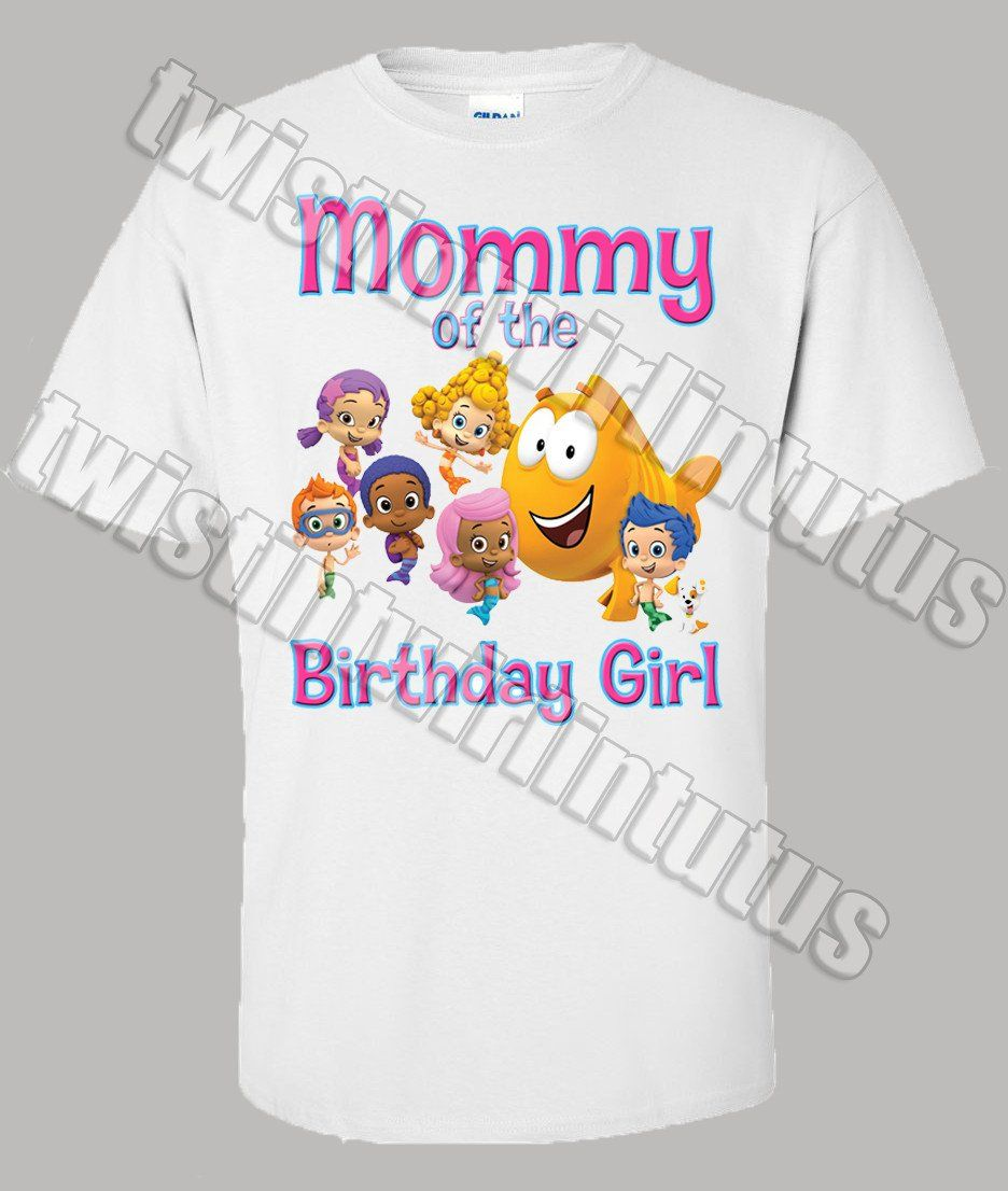 8d0fadbd Bubble Guppies Family Birthday Shirts in 2019 | Bubble guppies ...