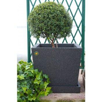Termoruukku Japan Musta 40 Litraa Bauhaus Verkkokauppa Plants Planter Pots Planters