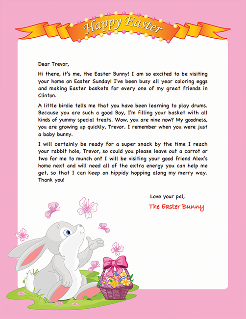 picture regarding Easter Bunny Letterhead named Easter Bunny Letterhead Easter Programs inside 2019 Easter