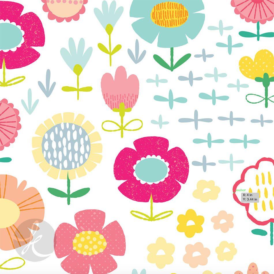 floral pattern design via katuno.com
