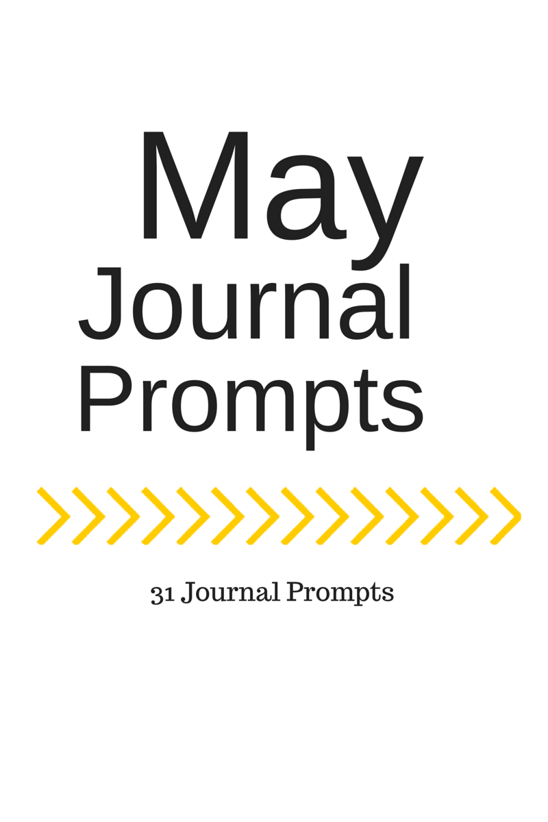 May Journal Prompts + Printable