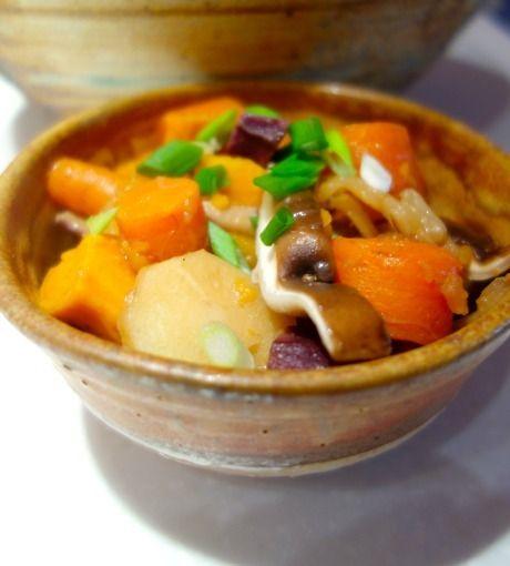 Root Vegetable Miso Nishime