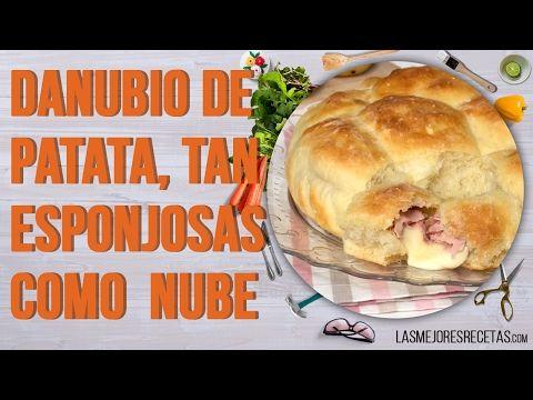 Estaba Buscando Una Receta ORIGINAL y Entonces Descubrí El DANUBIO de Patata, Tan Esponjoso Como una Nube