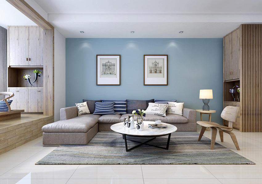 120 现代简约风格装修效果图优雅的家 中洁网