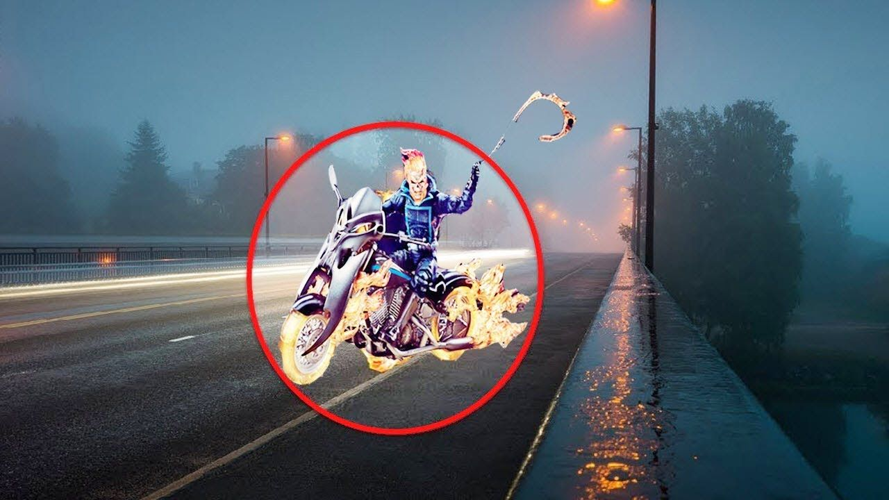 5 REAL LIFE GHOST RIDER CAUGHT ON CAMERA & SPOTTED IN REAL ...