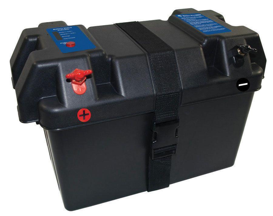 Smart Marine Battery Box For Rv Outdoor Solar Power Smart Box Marine Batteries Backup Sump Pump